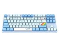达尔优A87天空版机械键盘